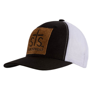 STS Patch Cap - Black & White