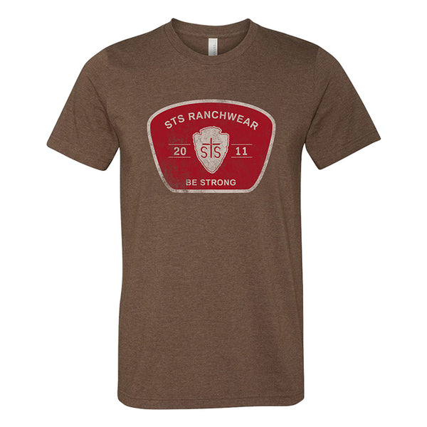 STS Men's Arrowhead Tee (Brown)