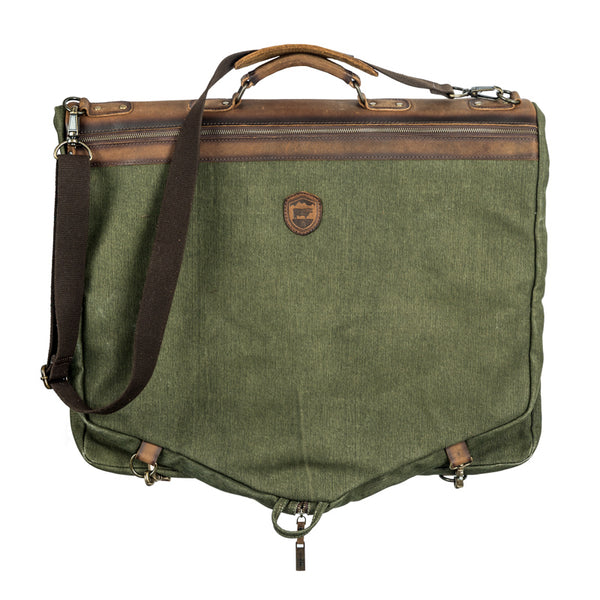 Foreman Canvas Garment Bag (STS Crest)