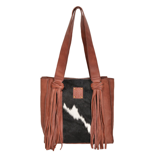 Cowhide Delilah Shopper