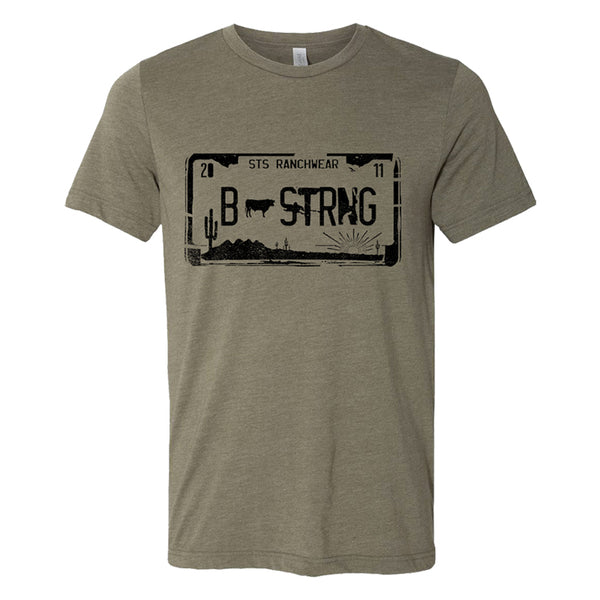 STS Men's License Plate Tee