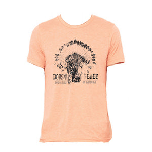 STS Ladies Tribal Boss Tee (Peach)