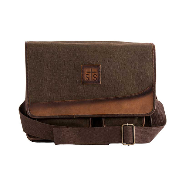 Foreman Dark Canvas Messenger