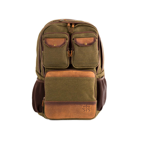 Foreman Military Canvas Backpack