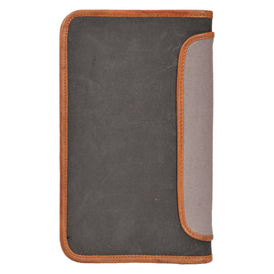 Gray Canvas Personal Organizer