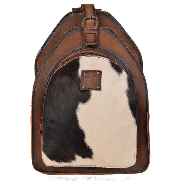 Cowhide Baroness Backpack