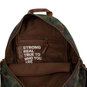 Camo Utility Backpack