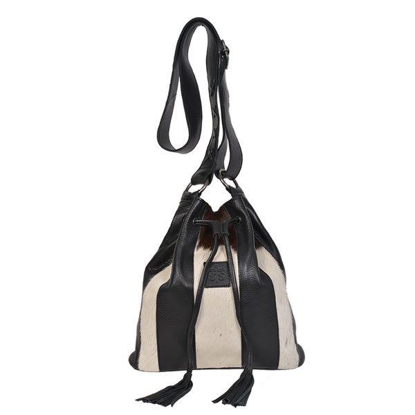Cowhide Large Bucket Bag
