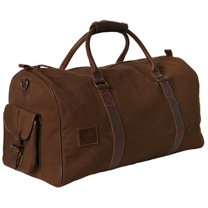 Chocolate Canvas Duffle