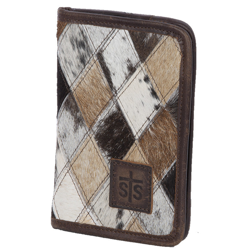 Diamond Cowhide Magnetic Wallet