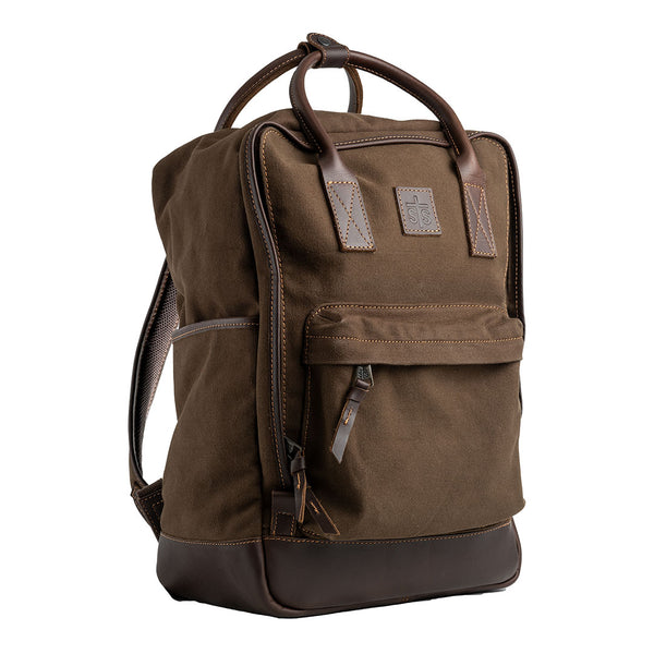 Foreman Chocolate Canvas Business Backpack