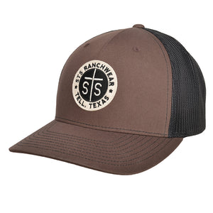 STS Patch Cap - Brown & Black