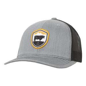 STS Crest Cap - Heather Gray & Black
