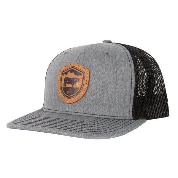 STS Crest Patch Cap - Heather Gray & Black