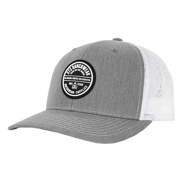 acc32bc9359 STS Patch Cap - Heather Gray   White