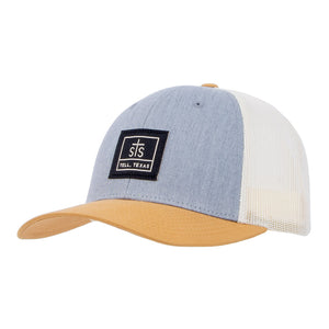 STS Woven Patch Hat - Heather Gray & Birch