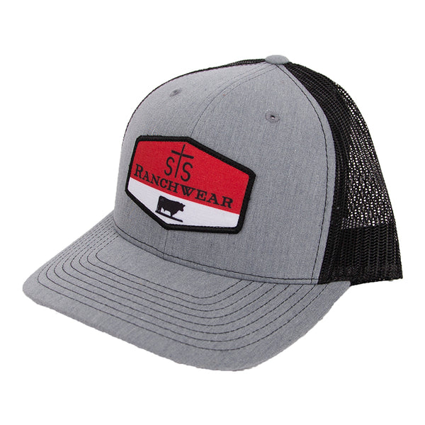 STS Patch Cap - Heather Gray & Black