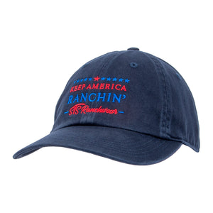 STS Keep America Ranchin Cap - Navy