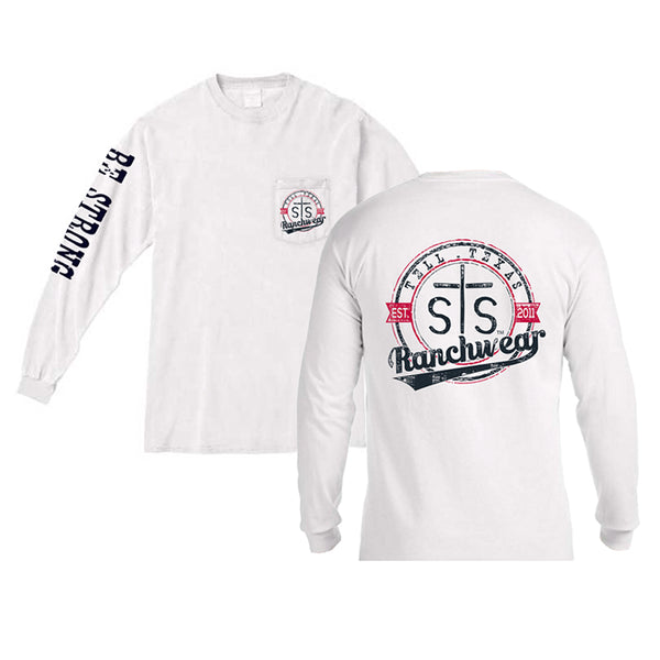 STS Ranchwear Vintage Long Sleeve - White