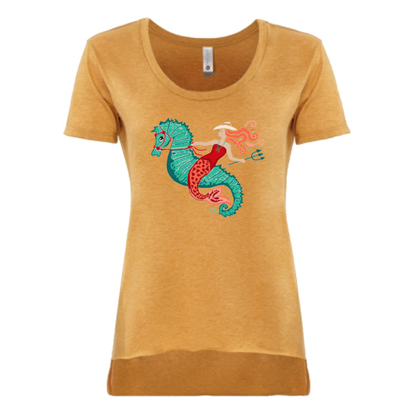 STS Ladies Cowgirl Mermaid Tee