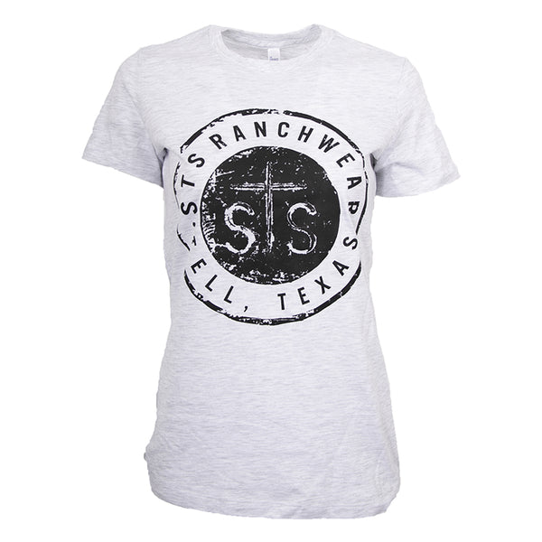 STS Ladies Button Tee