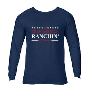STS Unisex Keep America Ranchin' Long Sleeve Tee