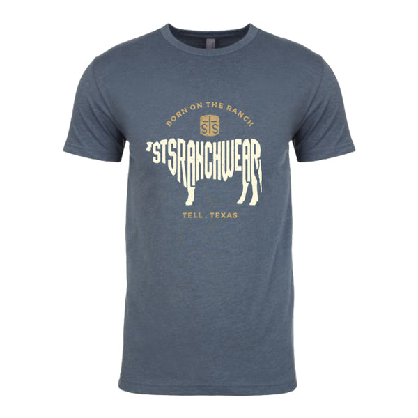 STS Men's Born on the Ranch Tee
