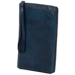 Denim Leather B.A. Wallet
