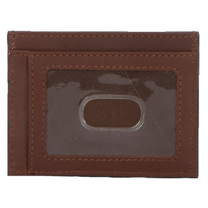 Chocolate Canvas Card Wallet
