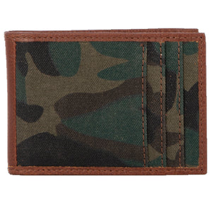Camo Money Clip Card Wallet