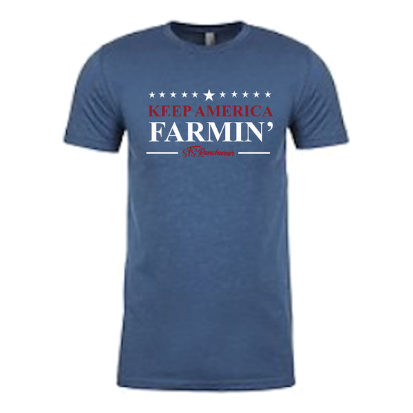 STS Men's Keep America Farmin' Tee