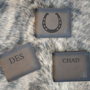 Laser Etching Charge (wallets)