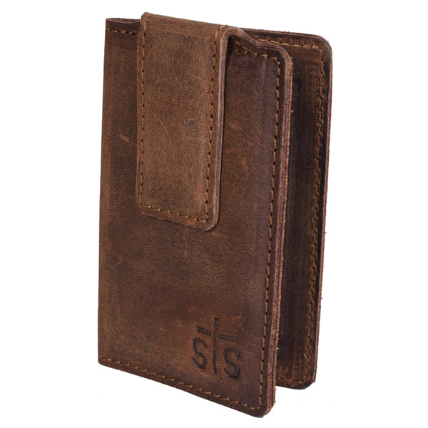 Foreman Leather Money Clip