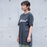 Softsoul Long length T-shirt (Heather black)