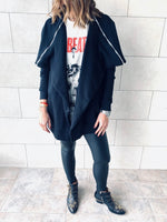 Rocker Open Sweat Cardi