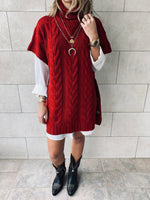 Rouge Kate Cable Poncho
