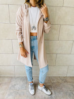 Beige Light Weight Summer Duster