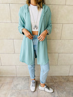 Aqua Light Weight Summer Duster