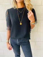 The Polka Tulle Top