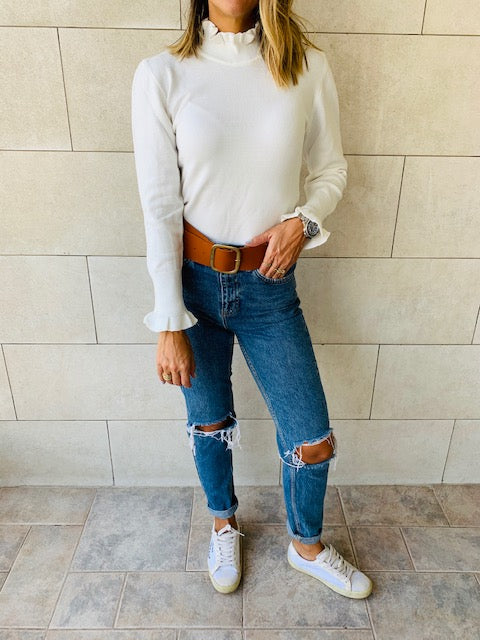 White Bliss Light Knit