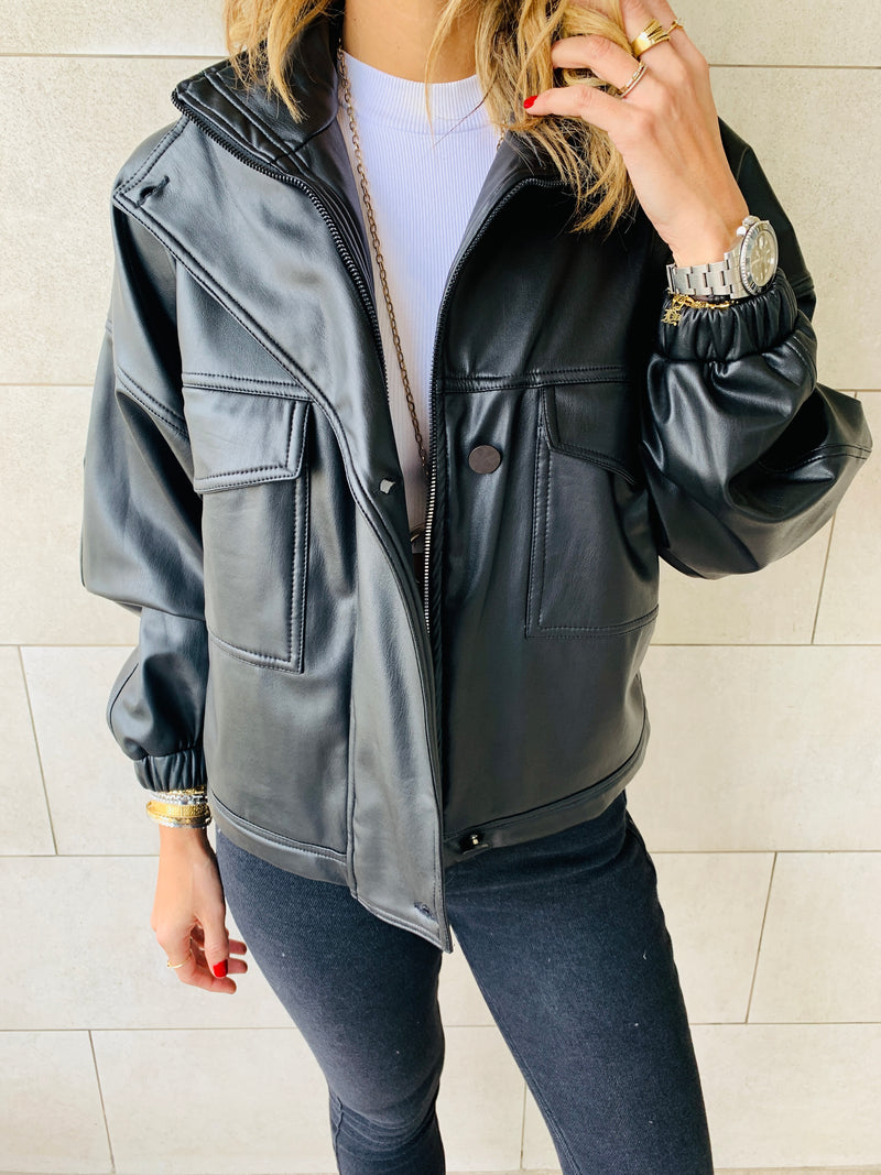 The Leather Biker Jacket