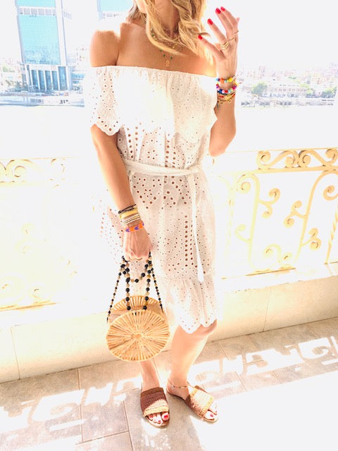 Bardot Anglaise Dress