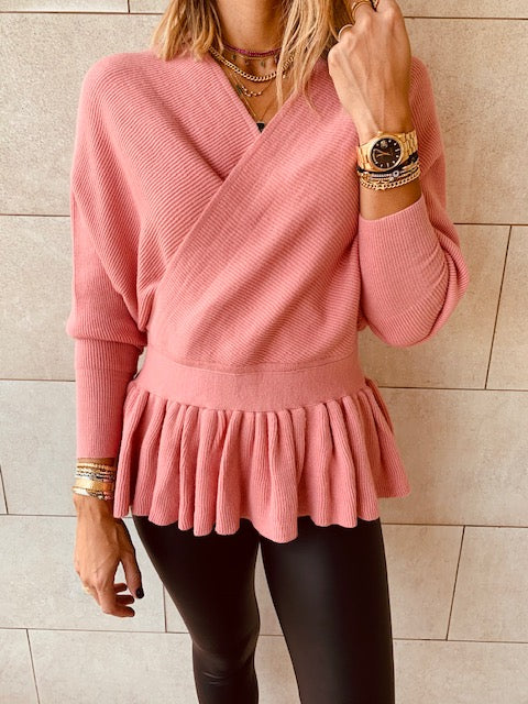 Rosie Sophisticated Vee Knit