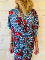 Aloha Blues Knot CoverUp