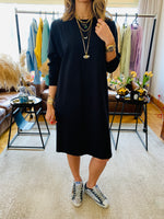 Black Spring Essential Dress
