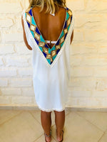 White Milly Statement Dress