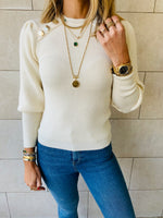 Ivory Le Goldie Pullover