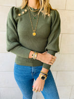 Olive Le Goldie Pullover