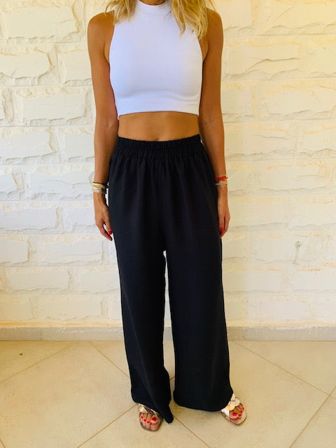 Black Haze Flare Pants