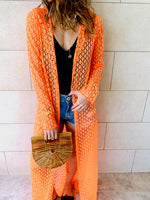 Neon Orange Ibiza CoverUp